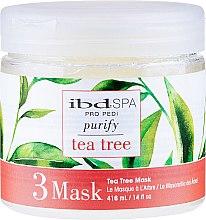 Düfte, Parfümerie und Kosmetik Reinigende und entzündungshemmende Fußmaske mit Teebaumextrakt - IBD Tea Tree Purify Pedi Spa Mask