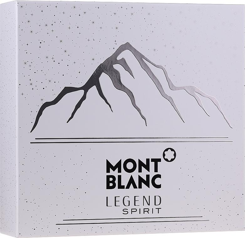 Montblanc Legend Spirit - Duftset (Eau de Toilette 100ml + After Shave Balsam 100ml + Duschgel 100ml)