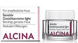 Düfte, Parfümerie und Kosmetik Gesichtscreme für empfindliche Haut - Alcina S Sensitive Facial Cream Light