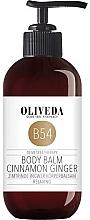 Düfte, Parfümerie und Kosmetik Feuchtigkeitsspendender und wohlduftender Körperbalsam mit Zimt und Ingwer - Oliveda B54 Body Balm Cinnamon Ginger