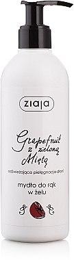 """Gelseife für die Hände """"Grapefruit mit grüner Minze"""" - Ziaja — Bild N1"""