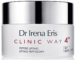 Düfte, Parfümerie und Kosmetik Straffende Anti-Falten Tagescreme mit Peptiden LSF 20 - Dr Irena Eris Clinic Way 4° anti-wrinkle care