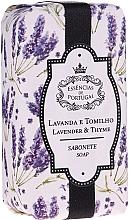 Düfte, Parfümerie und Kosmetik Naturseife Lavandel & Thymian - Essencias De Portugal Natura Lavander&Thyme Soap