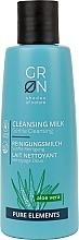 Düfte, Parfümerie und Kosmetik Reinigungsmilch mit Aloe Vera - GRN Pure Elements Aloe Vera Cleansing Milk