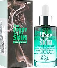 Düfte, Parfümerie und Kosmetik Entspannendes und beruhigendes Gesichtsserum mit Centella Asiatica- und Teebaumextrakt - Ultru I'm Sorry For My Skin Relaxing Ampoule