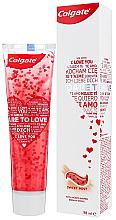 Düfte, Parfümerie und Kosmetik Zahnpasta Dare To Love weiß - Colgate Dare To Love