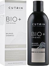 Düfte, Parfümerie und Kosmetik Feuchtigkeitsspendendes und balancierendes Shampoo für trockene und empfindliche Kopfhaut - Cutrin Bio+ Original Balance Shampoo