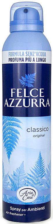 Duftendes Raumerfrischer-Spray Original - Felce Azzurra Classic Talc Spray