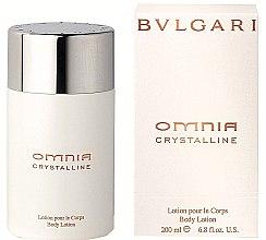 Düfte, Parfümerie und Kosmetik Bvlgari Omnia Crystalline - Körperlotion