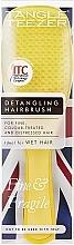 Düfte, Parfümerie und Kosmetik Haarbürste - Tangle Teezer The Wet Detangler Fine & Fragile Yellow Hairbrush