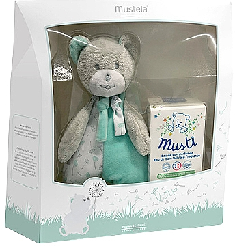 Mustela Musti - Duftset (Eau de Toilette 50ml + Teddybär)