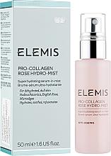 Düfte, Parfümerie und Kosmetik Feuchtigkeitsspendendes, beruhigendes und verjüngendes Sprühserum für das Gesicht - Elemis Pro-Collagen Rose Hydro-Mist