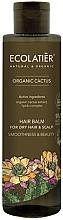 Düfte, Parfümerie und Kosmetik Glättende Haarspülung mit Bio Kaktusextrakt und Lipidkomplex für trockenes Haar - Ecolatier Organic Cactus Hair Balm For Dry Hair And Scalp