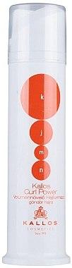 Styling-Creme für lockiges Haar - Kallos Cosmetics Curl Power Styling Cream — Bild N1