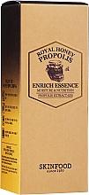 Düfte, Parfümerie und Kosmetik Feuchtigkeitsspendende und nährende Gesichtsessenz mit Propolisextrakt - Skinfood Royal Honey Propolis Enrich Essence