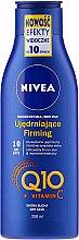 Düfte, Parfümerie und Kosmetik Straffende Körperlotion mit Coenzym Q10 und Vitamin C - Nivea Q10 + Vitamin C Body Lotion