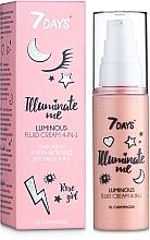 Düfte, Parfümerie und Kosmetik 4in1 Gesichtscreme-Fluid für strahlende Haut - 7 Days Illuminate Me Luminous Fluid Cream 4in1