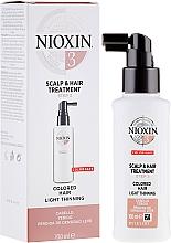 Düfte, Parfümerie und Kosmetik Pflegende Kopfhaut- und Haarbehandlung - Nioxin Color Safe System 3 Scalp Treatment