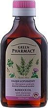 Düfte, Parfümerie und Kosmetik Klettenwurzelnöl mit Schachtelhalm Extrakt gegen Haarausfall - Green Pharmacy