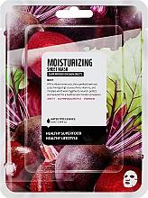 Düfte, Parfümerie und Kosmetik Feuchtigkeitsspendende Tuchmaske mit Rote Bete Extrakt - Superfood For Skin Moisturizing Sheet Mask