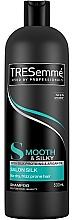 Düfte, Parfümerie und Kosmetik Feuchtigkeitsspendendes und glättendes Shampoo mit Seidenproteinen und Arganöl - Tresemme Smooth & Silk Shampoo
