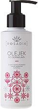 Düfte, Parfümerie und Kosmetik Rosadia - Sanftes Make-up Reinigungsöl mit Rosenbaum- und Geranienöl und Vitamin E