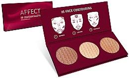 Düfte, Parfümerie und Kosmetik Konturpalette für das Gesicht - Affect Cosmetics Contour Palette