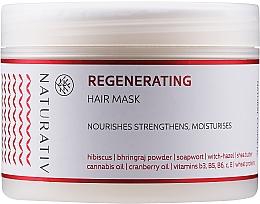 Düfte, Parfümerie und Kosmetik Regenerierende Haarmaske - Naturativ Regeneration Mask