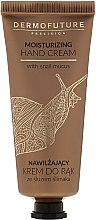 Düfte, Parfümerie und Kosmetik Feuchtigkeitsspendende Handcreme mit Schneckenschleim - Dermofuture Moisturizing Hand Cream
