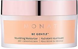 Düfte, Parfümerie und Kosmetik Nährende und feuchtigkeitsspendende Gesichtscreme für trockene und empfindliche Haut - Monat Be Gentle Nourishing Moisturizer