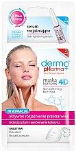 Düfte, Parfümerie und Kosmetik Gesichtsmaske mit Pfingstrosenextrakt - Dermo Pharma Skin Lightening