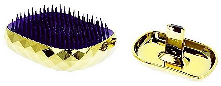 Entwirrbürste gold - Twish Spiky 4 Hair Brush Diamond Gold
