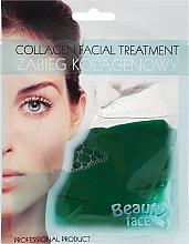 Düfte, Parfümerie und Kosmetik Kollagenmaske mit Gurkenextrakt - Beauty Face Cucumber Extract Collagen Mask