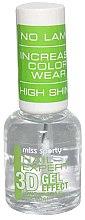 Düfte, Parfümerie und Kosmetik Gel Nagelüberlack - Miss Sporty Nail Expert 3D Gel Effect Top Coat