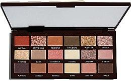 Düfte, Parfümerie und Kosmetik Lidschattenpalette mit 18 Farben - I Heart Revolution Chocolate Palette