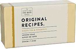 Düfte, Parfümerie und Kosmetik Luxuriöse Seife mit weißem Tee und Vitamin E - Scottish Fine Soaps Original Recipes White Tea & Vitamin E Luxury Soap Bar