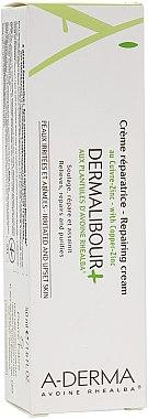 Antibakterielle Gesichtscreme mit Haferextrakt - A-Derma Dermalibour+ Creme — Bild N1