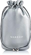Düfte, Parfümerie und Kosmetik Kosmetikbeutel silber Pretty pouch - Makeup