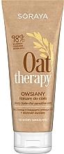 Düfte, Parfümerie und Kosmetik Körperlotion mit Haferextrakt für empfindlche Haut - Soraya Oat Therapy Body Balm
