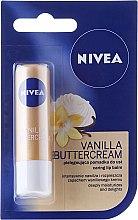 "Düfte, Parfümerie und Kosmetik Pflegender Lippenbalsam ""Vanilla Buttercream"" - Nivea Vanilla Buttercream"