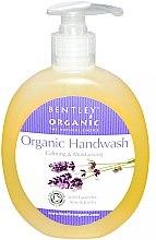 Düfte, Parfümerie und Kosmetik Feuchtigkeitsspendende und beruhigende Flüssigseife mit Lavendel, Aloe Vera und Jojoba - Bentley Organic Body Care Calming & Moisturising Handwash