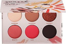 Düfte, Parfümerie und Kosmetik Lidschattenpalette - Pierre Rene Eyeshadow Palette Sunset Ustka