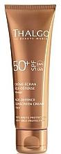 Düfte, Parfümerie und Kosmetik Anti-Aging Sonnenschutzcreme für das Gesicht SPF 50+ - Thalgo Age Defence Sunscreen Cream SPF 50
