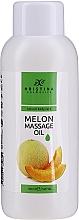 Düfte, Parfümerie und Kosmetik Tief nährendes glättendes, beruhigendes und aufweichendes Massageöl für den Körper mit Melonenextrakt - Hristina Cosmetics Melon Massage Oil