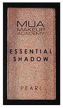 Düfte, Parfümerie und Kosmetik Lidschatten - MUA Essential Shadow Pearl