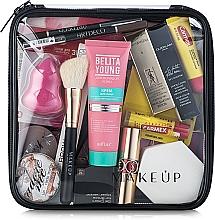 Düfte, Parfümerie und Kosmetik Kosmetiktasche Visible Bag transparent 20x20x8 cm - MakeUp
