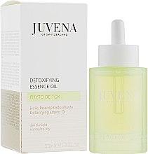 Düfte, Parfümerie und Kosmetik Antioxidatives und pflegendes Gesichtsöl für Tag und Nacht - Juvena Phyto De-Tox Detoxifying Essence Oil