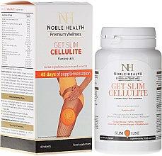 Düfte, Parfümerie und Kosmetik Nahrungsergänzungsmittel gegen Cellulite mit Pflanzenextrakten - Noble Health Get Slim Cellulite