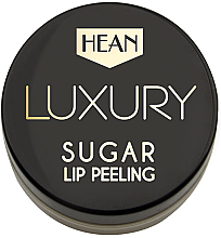 Düfte, Parfümerie und Kosmetik Luxuriöses Zuckerpeeling für die Lippen - Hean Luxury Sugar Lip Peeling