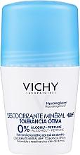 Düfte, Parfümerie und Kosmetik Deo Roll-on für empfindliche Haut - Vichy Deodorant Mineral 48h Tolerance Optimale Roll-On